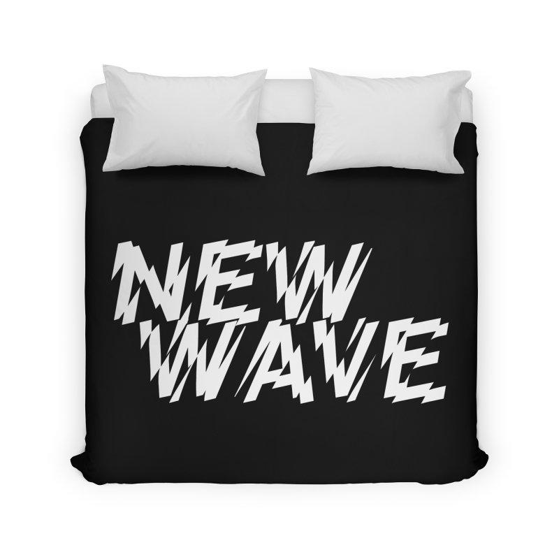 New Wave (White Design) Home Duvet by HiFi Brand