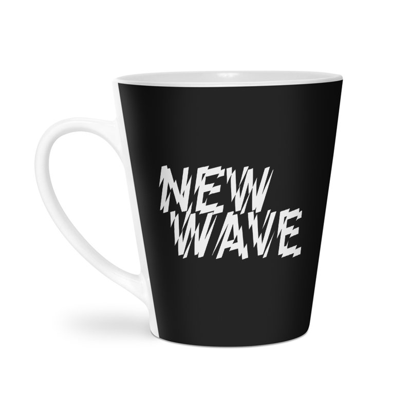 New Wave (White Design) Accessories Mug by HiFi Brand