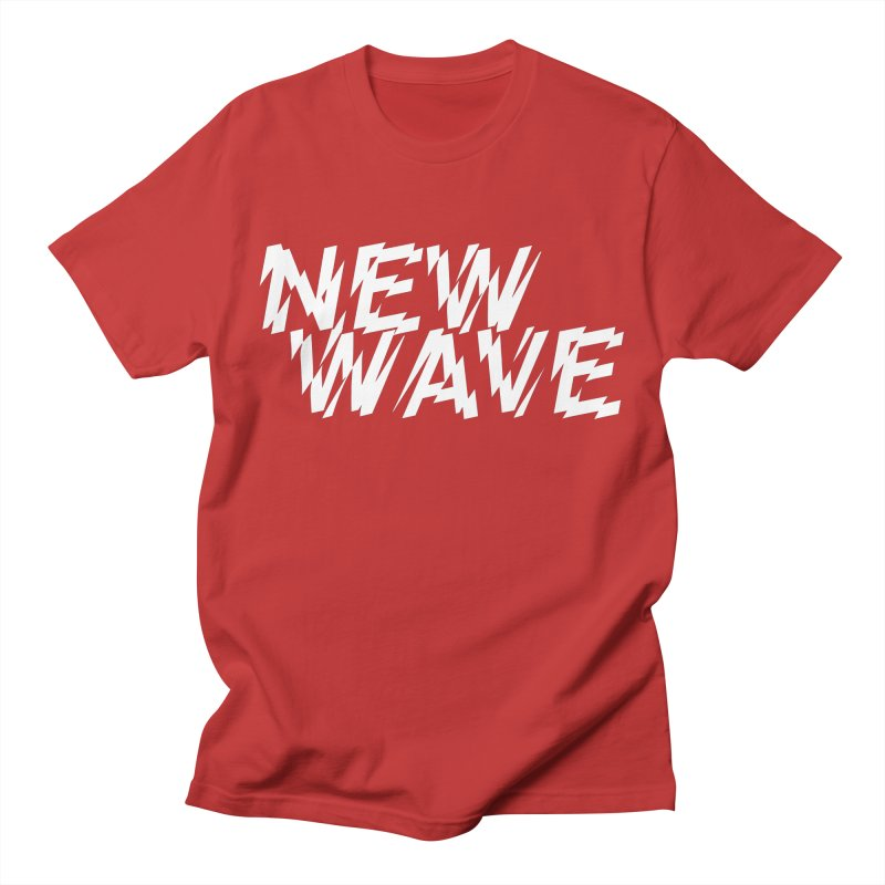 New Wave (White Design) Men's T-Shirt by HiFi Brand