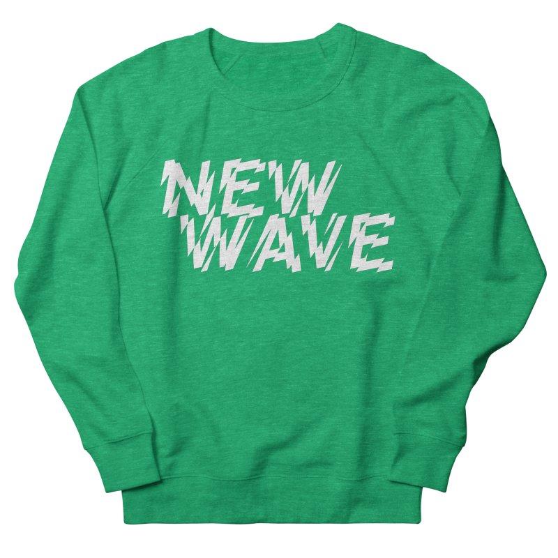 New Wave (White Design) Women's Sweatshirt by HiFi Brand