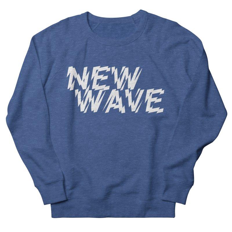 New Wave (White Design) Men's Sweatshirt by HiFi Brand
