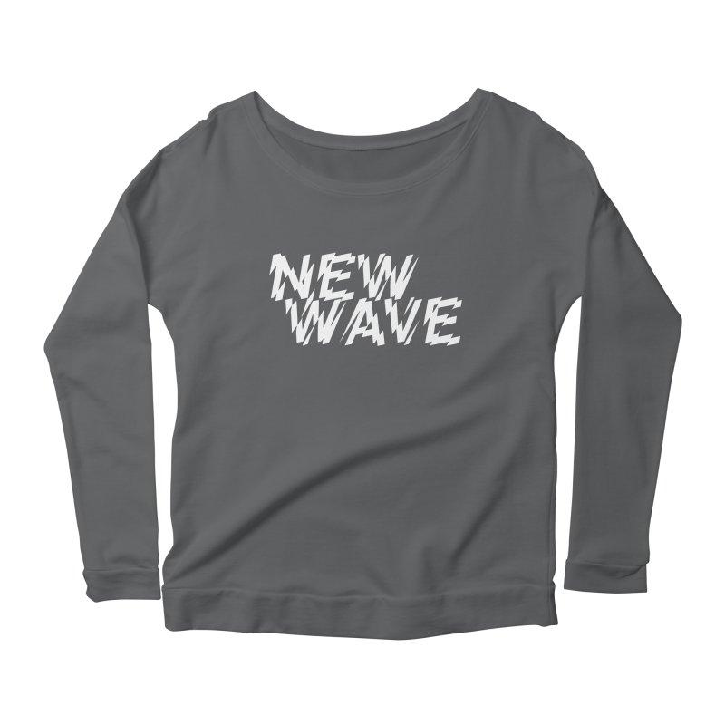 New Wave (White Design) Women's Longsleeve T-Shirt by HiFi Brand