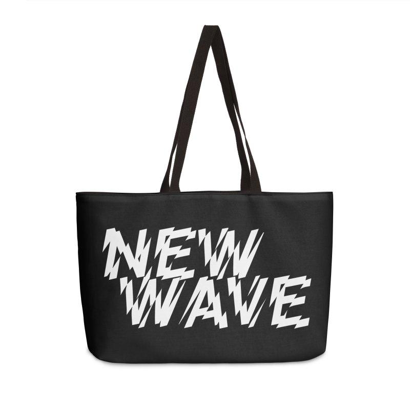 New Wave (White Design) Accessories Bag by HiFi Brand