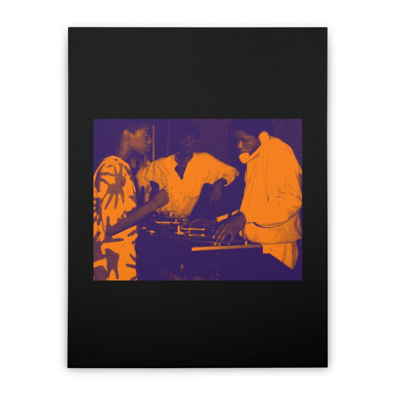 Disco Kids Home Stretched Canvas by HiFi Brand