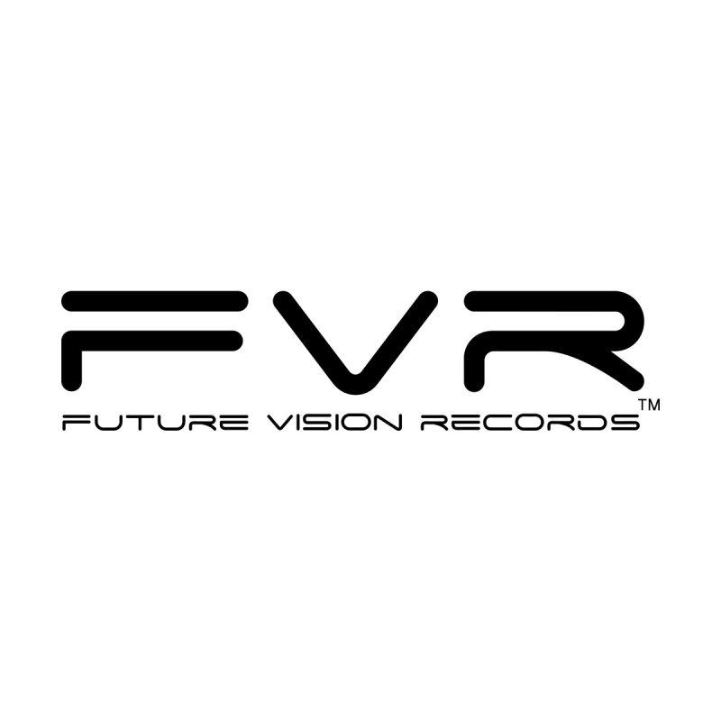Future Vision Records (Black Logo) Accessories Bag by HiFi Brand
