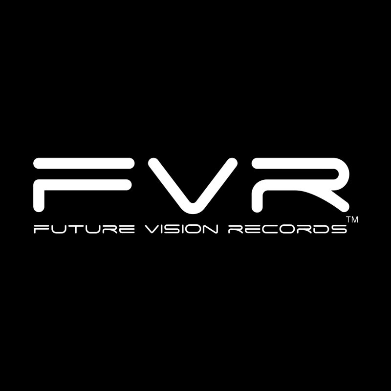 Future Vision Records (White Logo) Home Stretched Canvas by HiFi Brand