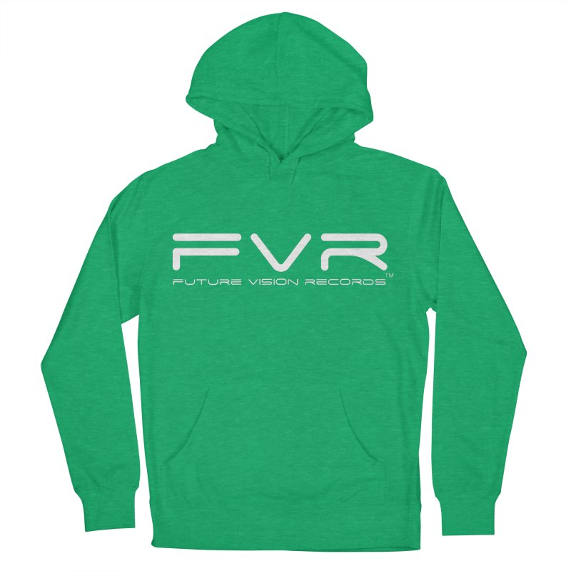 Future Vision Records (White Logo) Men's French Terry Pullover Hoody by HiFi Brand