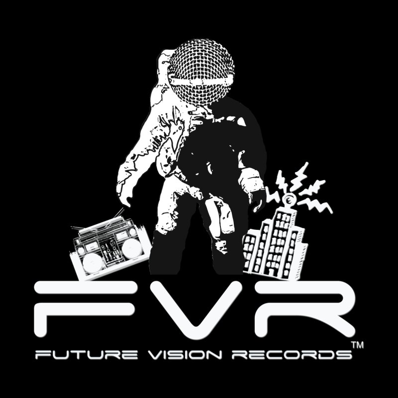 Future Vision Records Home Mounted Aluminum Print by HiFi Brand