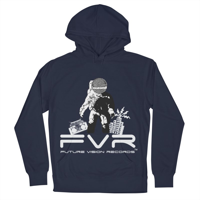 Future Vision Records Women's French Terry Pullover Hoody by HiFi Brand
