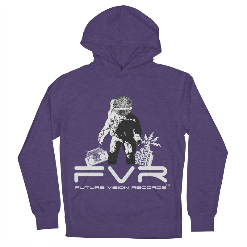 Future Vision Records Men's French Terry Pullover Hoody by HiFi Brand