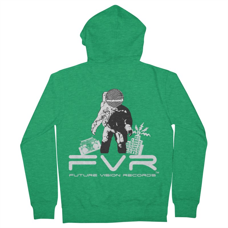 Future Vision Records Women's French Terry Zip-Up Hoody by HiFi Brand