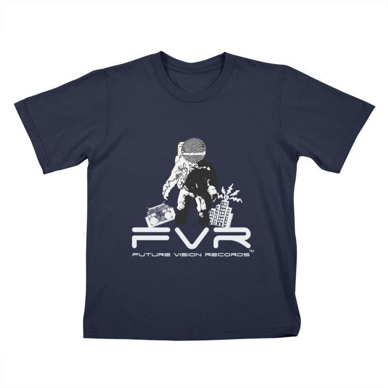 Future Vision Records Kids T-Shirt by HiFi Brand