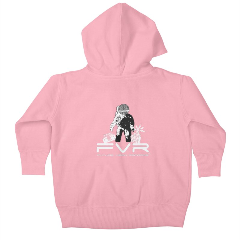 Future Vision Records Kids Baby Zip-Up Hoody by HiFi Brand