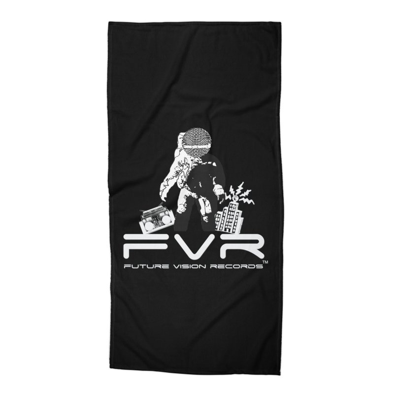 Future Vision Records Accessories Beach Towel by HiFi Brand