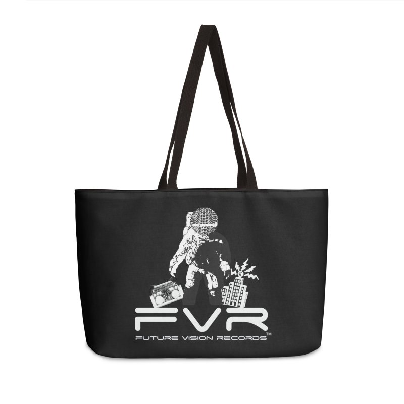 Future Vision Records Accessories Weekender Bag Bag by HiFi Brand
