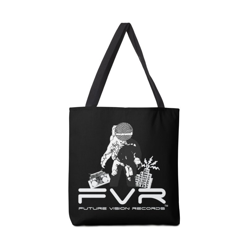 Future Vision Records Accessories Tote Bag Bag by HiFi Brand