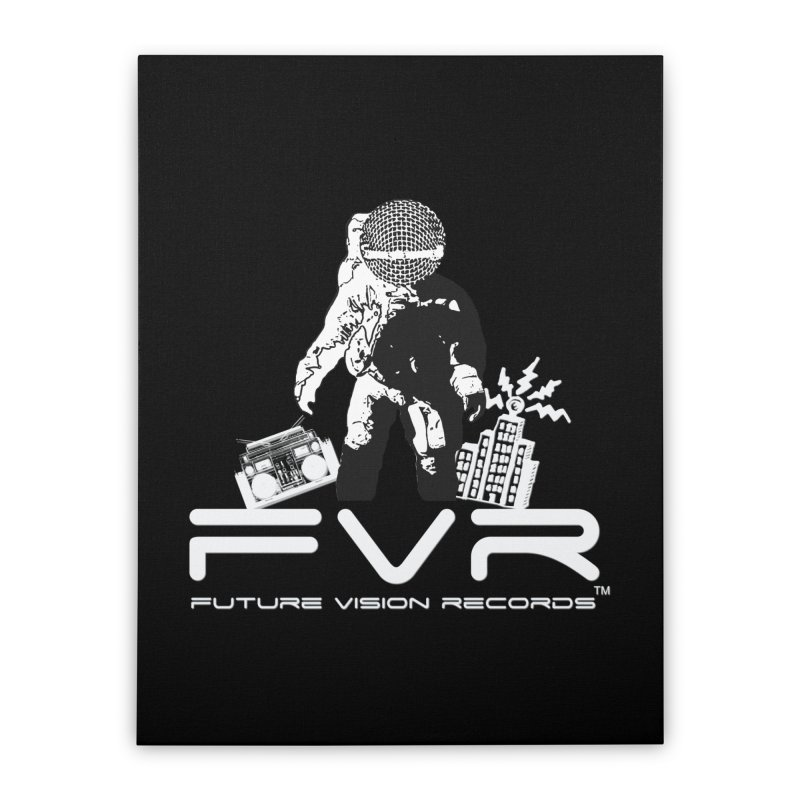 Future Vision Records Home Stretched Canvas by HiFi Brand