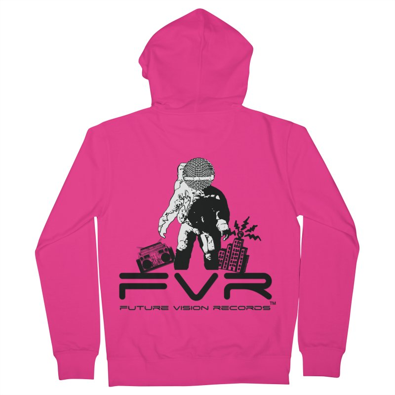 Future Vision Men's French Terry Zip-Up Hoody by HiFi Brand
