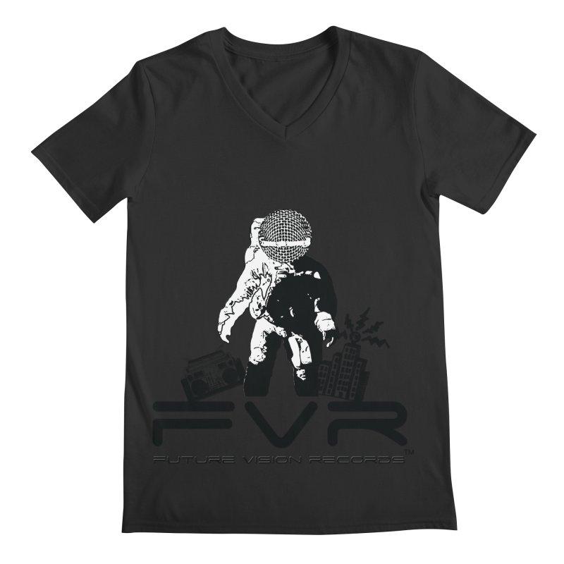 Future Vision Men's Regular V-Neck by HiFi Brand