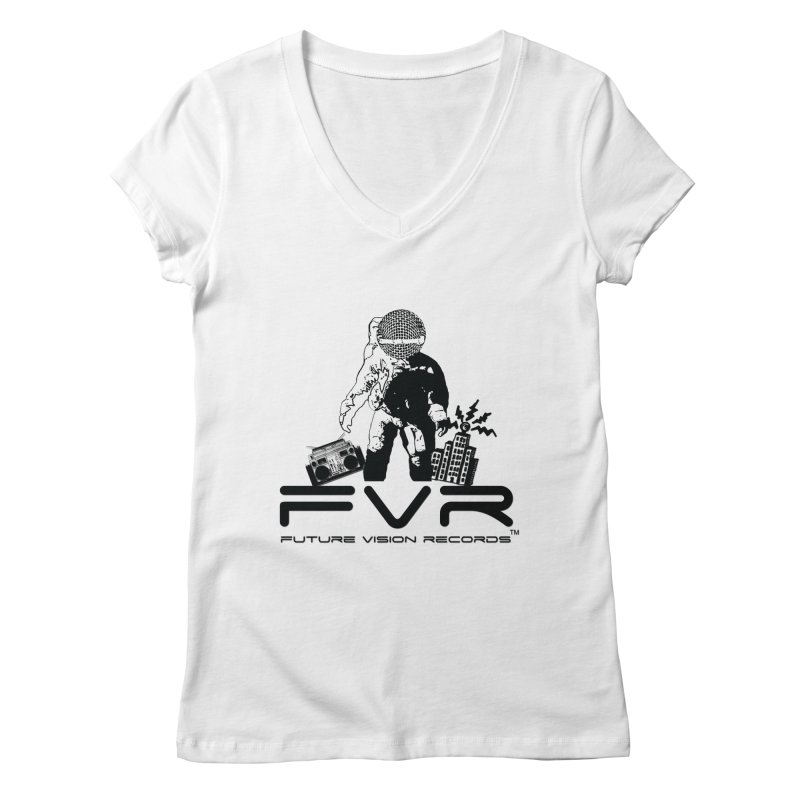 Future Vision Women's Regular V-Neck by HiFi Brand
