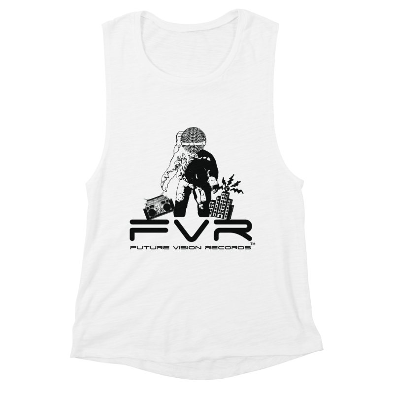 Future Vision Women's Muscle Tank by HiFi Brand