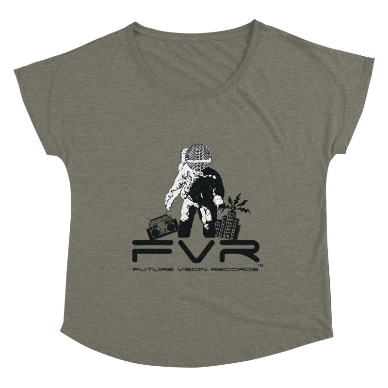 Future Vision Women's Scoop Neck by HiFi Brand