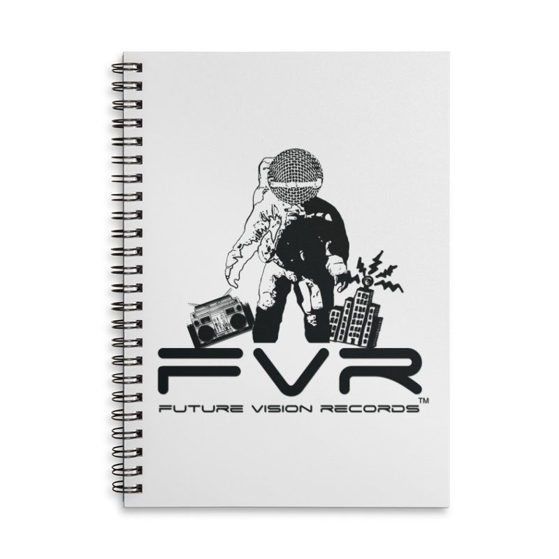 Future Vision Accessories Lined Spiral Notebook by HiFi Brand