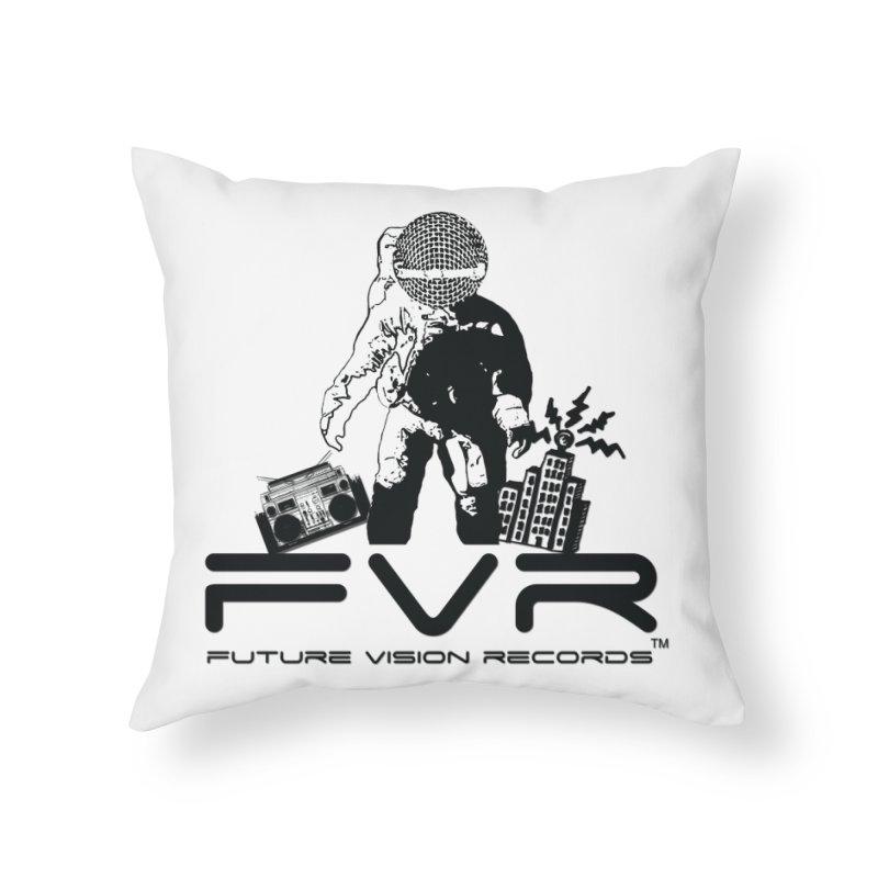 Future Vision Home Throw Pillow by HiFi Brand