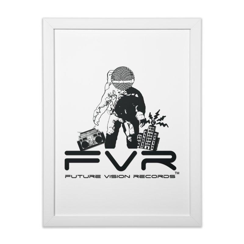 Future Vision Home Framed Fine Art Print by HiFi Brand