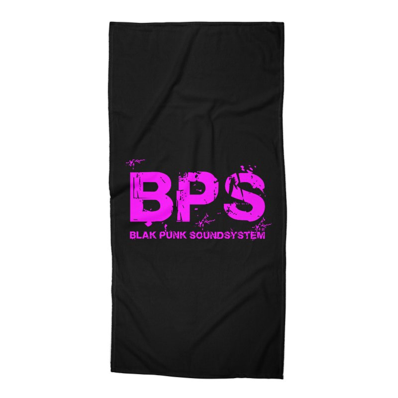 BPS (Magenta Design) Accessories Beach Towel by HiFi Brand