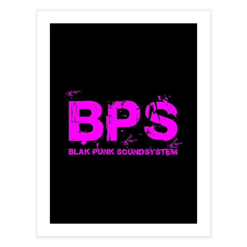 BPS (Magenta Design) Home Fine Art Print by HiFi Brand