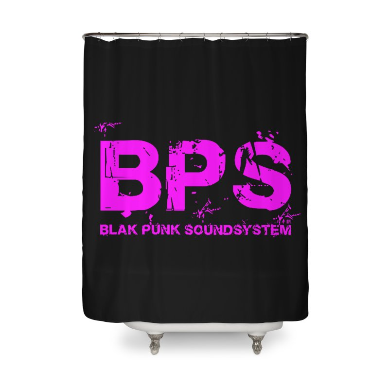 BPS (Magenta Design) Home Shower Curtain by HiFi Brand