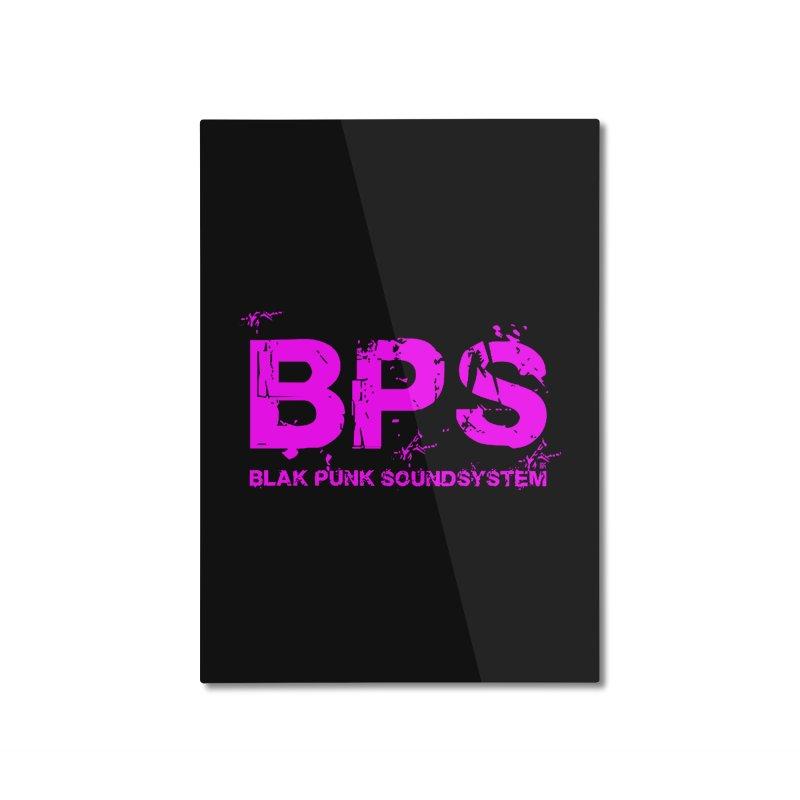 BPS (Magenta Design) Home Mounted Aluminum Print by HiFi Brand