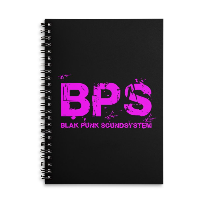 BPS (Magenta Design) Accessories Lined Spiral Notebook by HiFi Brand