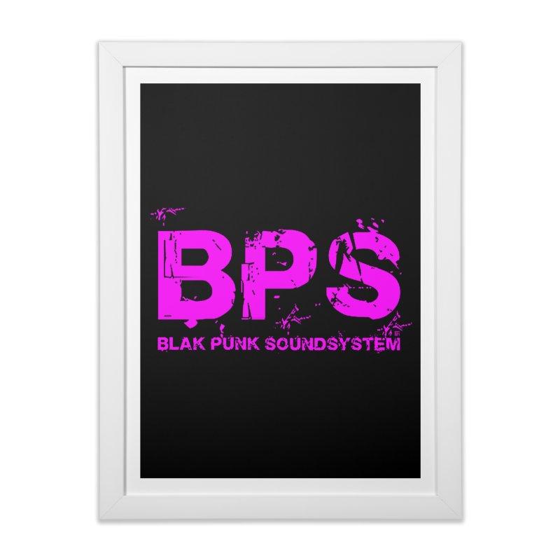 BPS (Magenta Design) Home Framed Fine Art Print by HiFi Brand