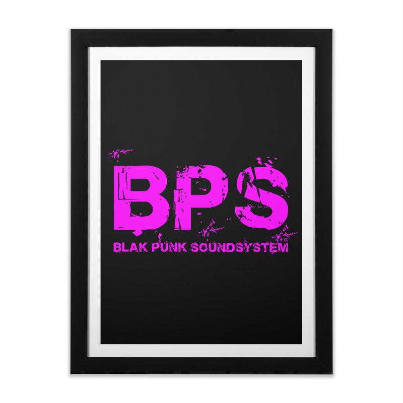 BPS (Magenta Design) Home Framed Fine Art Print by HiFi Brand