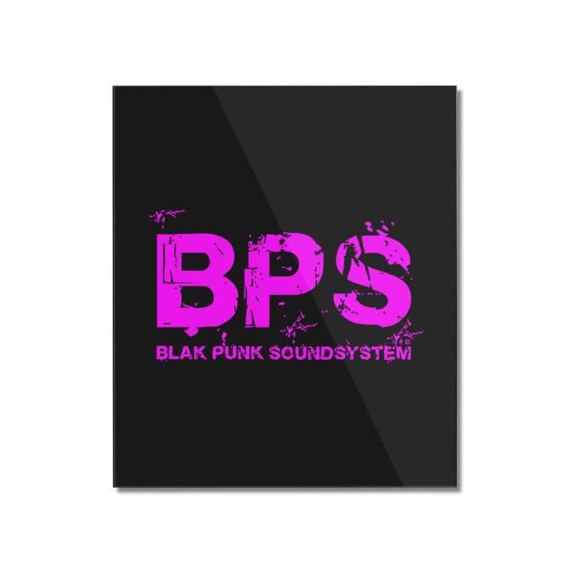 BPS (Magenta Design) Home Mounted Acrylic Print by HiFi Brand