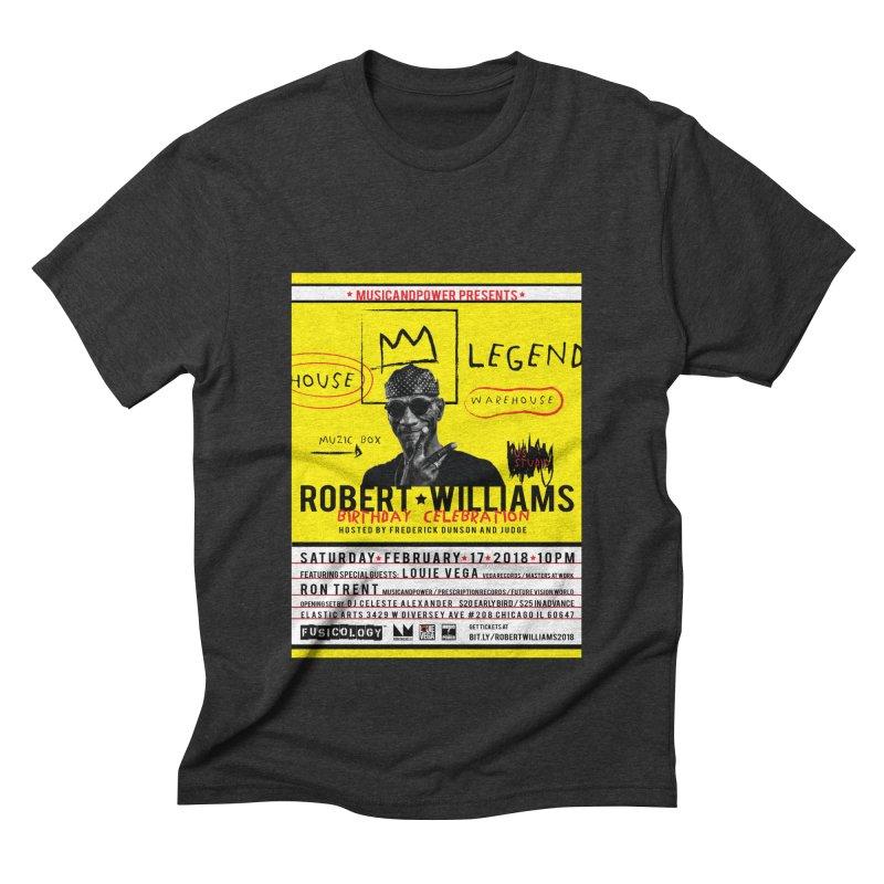 Robert Williams Birthday Celebration 2018 Men's Triblend T-Shirt by HiFi Brand