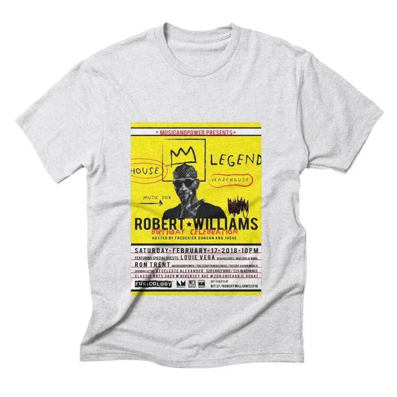 Robert Williams Birthday Celebration 2018 Men's T-Shirt by HiFi Brand