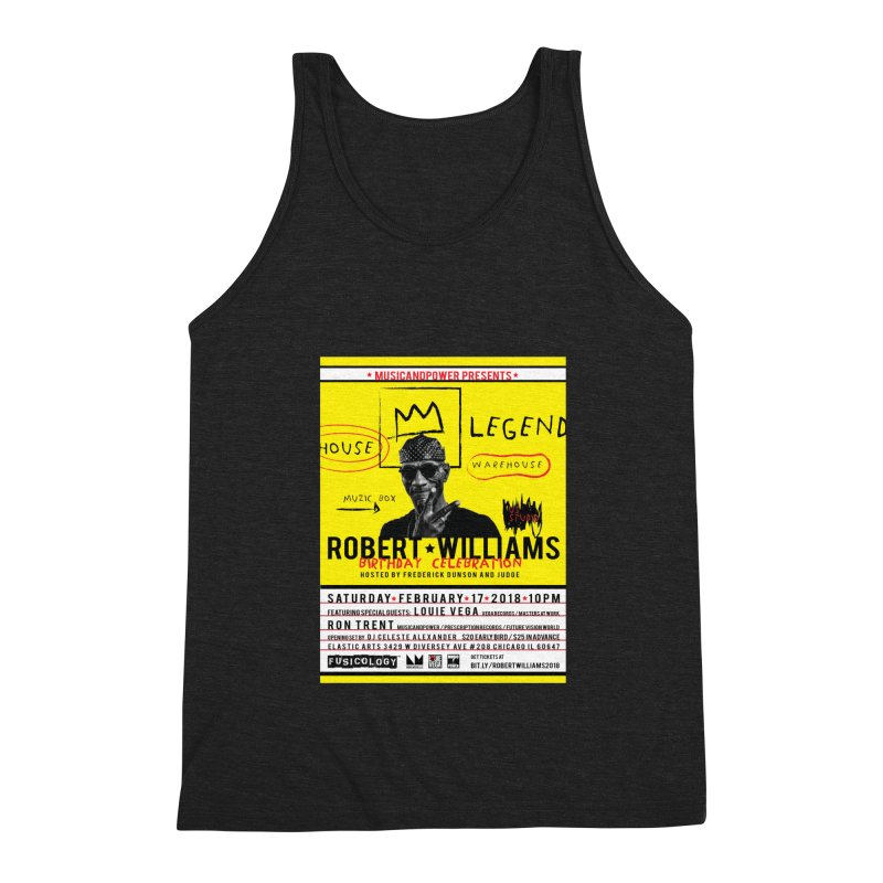 Robert Williams Birthday Celebration 2018 Men's Tank by HiFi Brand