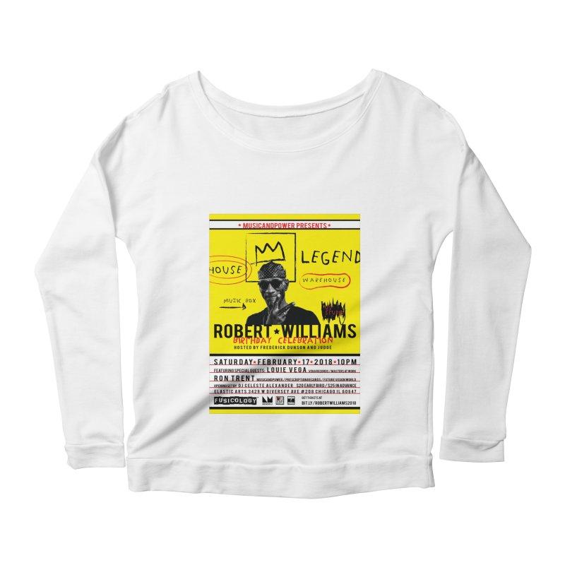 Robert Williams Birthday Celebration 2018 Women's Longsleeve T-Shirt by HiFi Brand