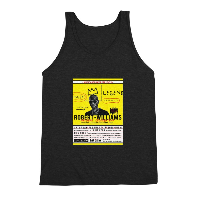 Robert Williams Birthday Celebration 2018 Men's Triblend Tank by HiFi Brand