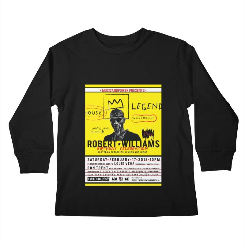 Robert Williams Birthday Celebration 2018 Kids Longsleeve T-Shirt by HiFi Brand