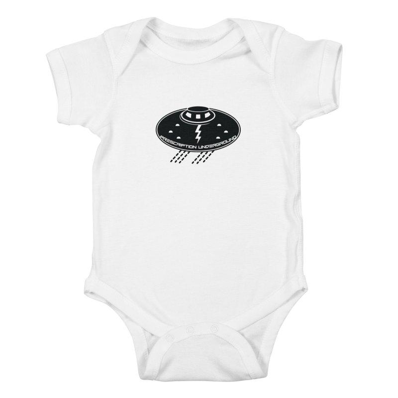 Prescription Underground Logo Kids Baby Bodysuit by HiFi Brand