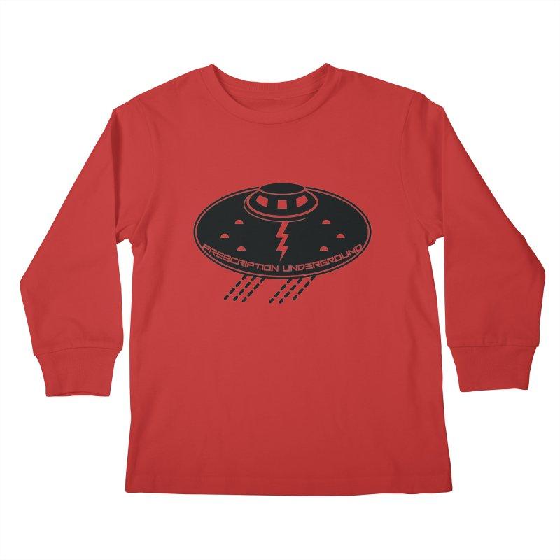 Prescription Underground Logo Kids Longsleeve T-Shirt by HiFi Brand