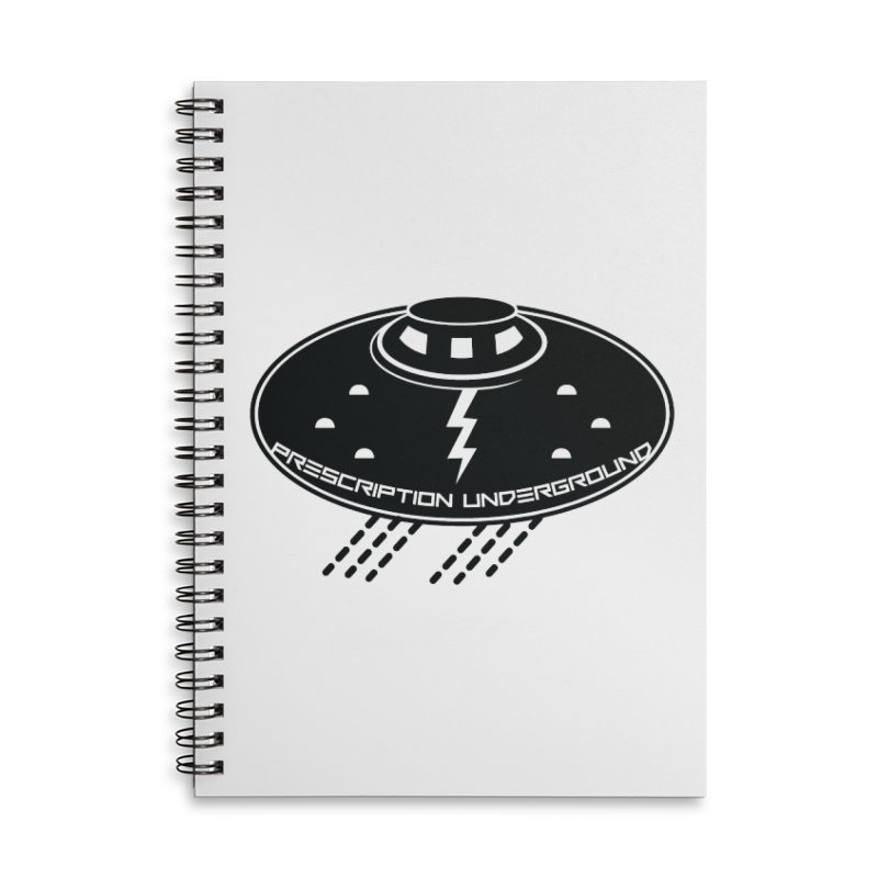 Prescription Underground Logo Accessories Lined Spiral Notebook by HiFi Brand