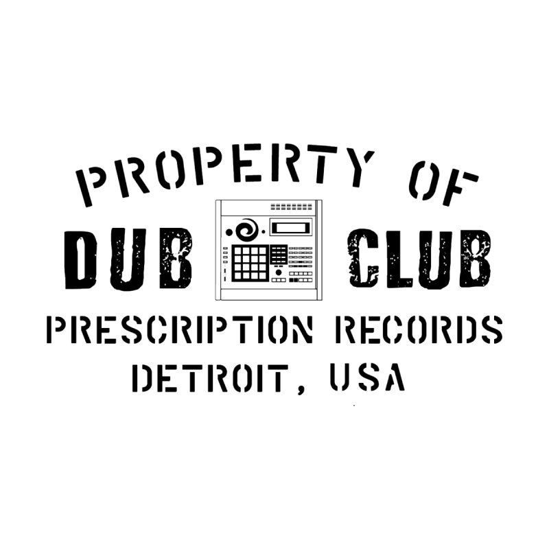 Prescription Records: Detroit Dub Club (Black)  Home Blanket by HiFi Brand