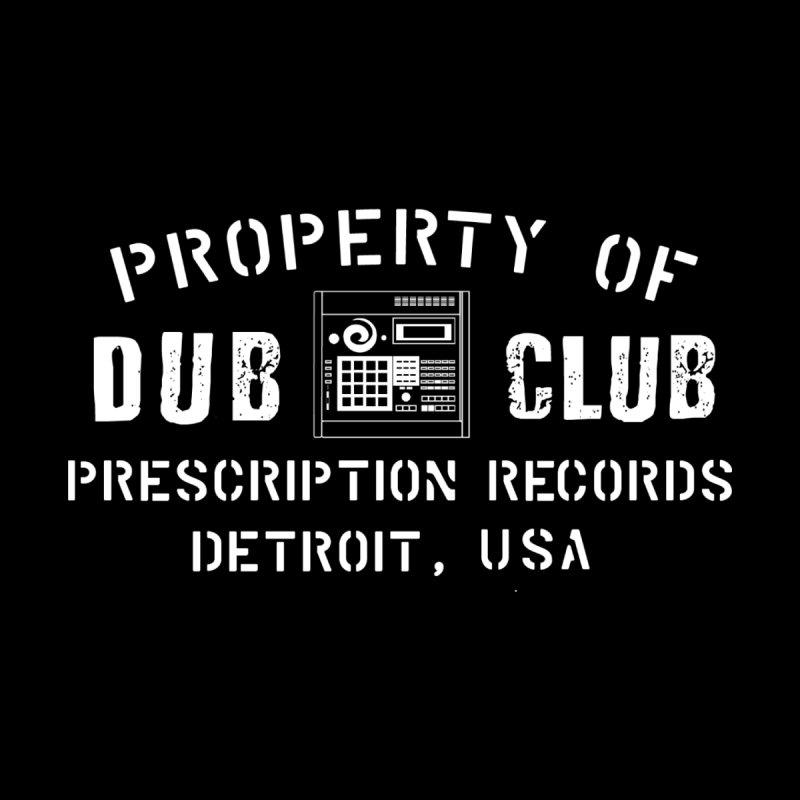 Prescription Records: Detroit Dub Club (White)  Home Blanket by HiFi Brand