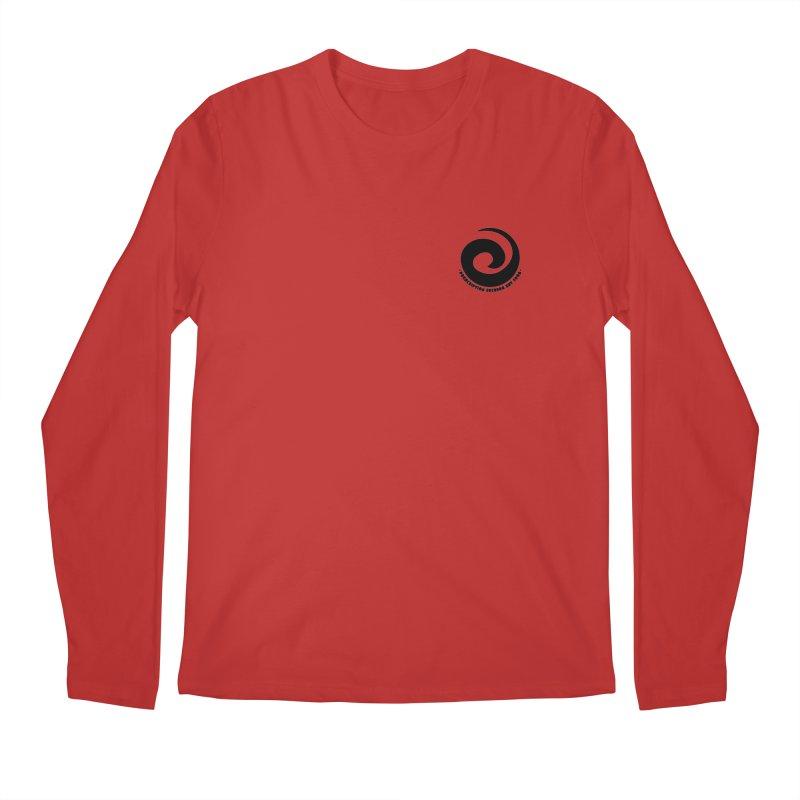 Prescription Records Small Logo (Black) Men's Regular Longsleeve T-Shirt by HiFi Brand