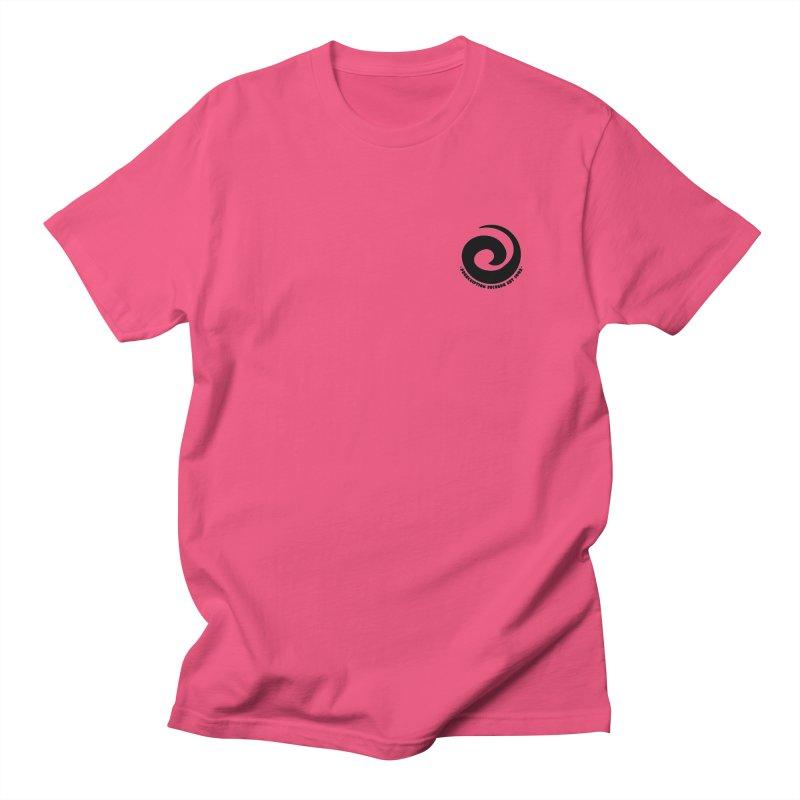 Prescription Records Small Logo (Black) Men's T-Shirt by HiFi Brand